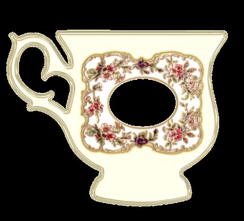 teacup cup porcelain