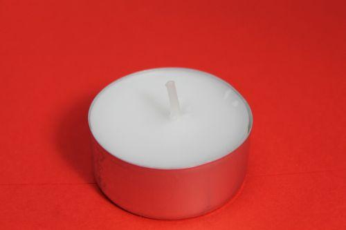 tealight unused wax