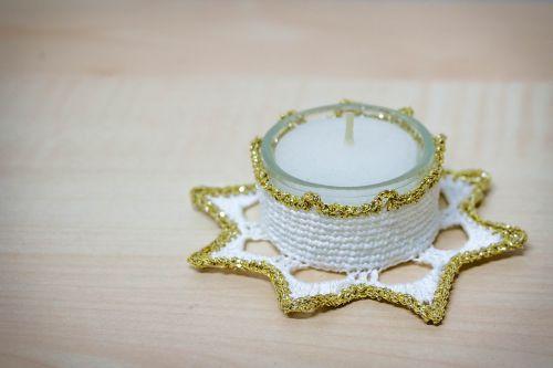 tealight hand labor christmas