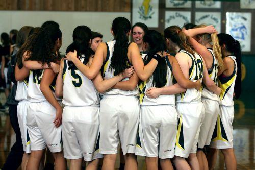 team girls basketball team girls