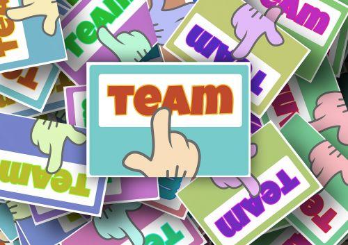 team work finger