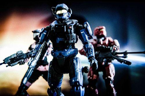 team science fiction action figure