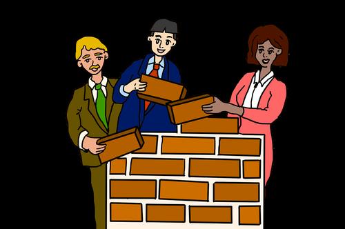 team building  teamwork  team