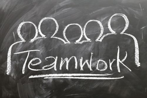 teamwork team blackboard blackboard