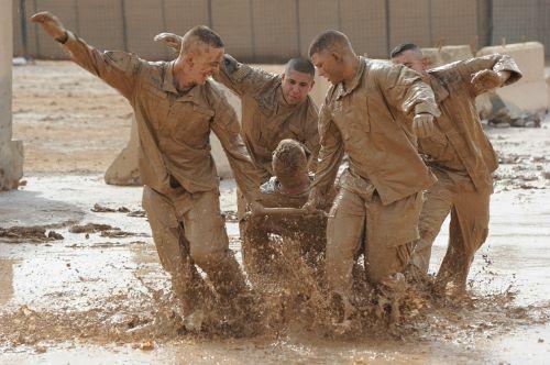 teamwork training exercise army military