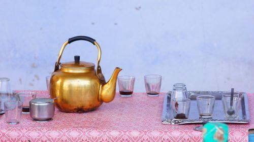 teapot egypt tea