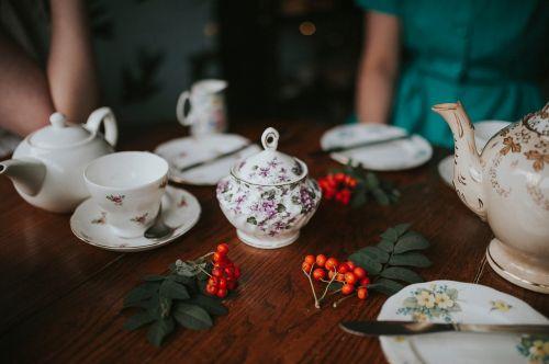 teapot cup saucer