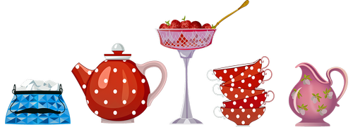 teapot  high tea  delicious