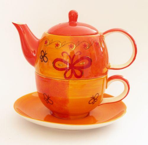 teapot cup tea