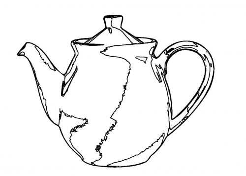 Teapot Outlines