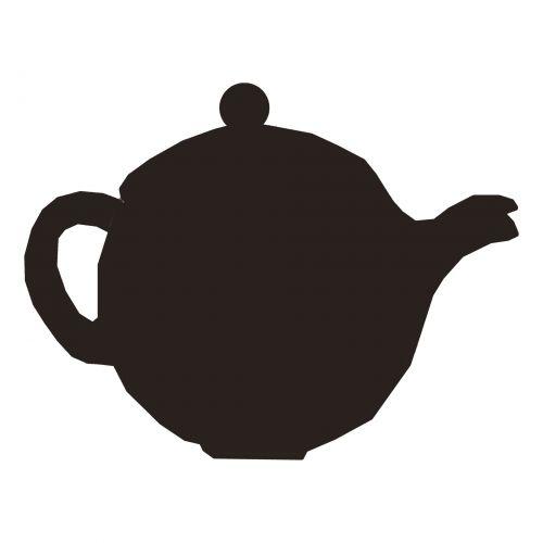 Teapot Silhouette I