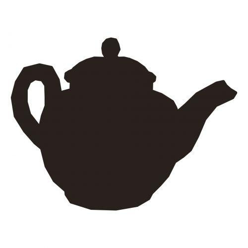 Teapot Silhouette II