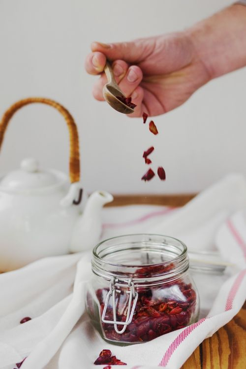 teapots jar glass