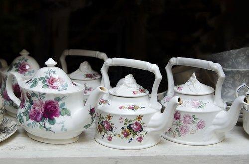 teapots  tea  drink