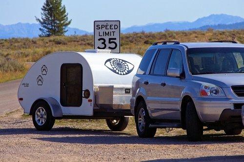 teardrop camper  trailer  camper