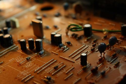 technical circuit board electronics