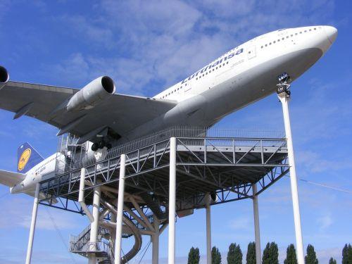 technik museum speyer lufthansa jumbo jet