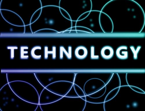 technology abstraction wallpaper