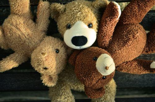 teddy teddy bear friends
