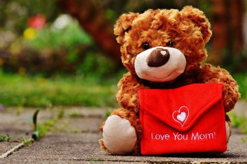 teddy mother's day love