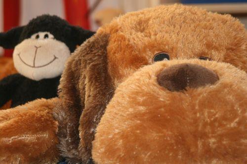 teddy dog stuffed animal
