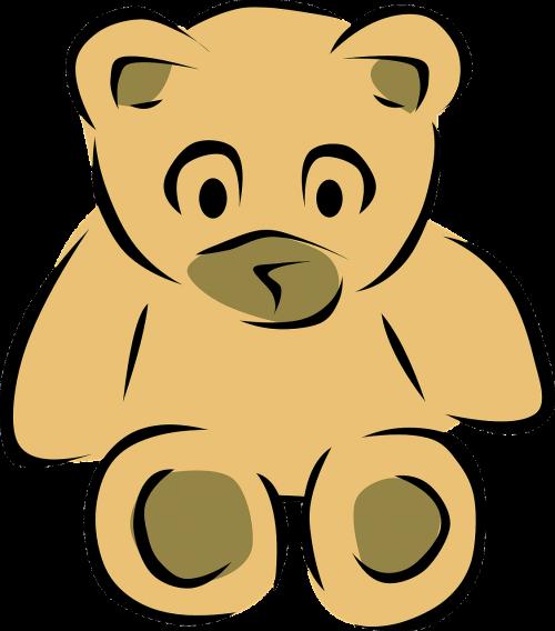 Teddy,turėti,purus,žaislas,lėlės,sėdi,įdaryti,ruda,minkštas,liūdnas,pūkuotas,linksma,linksma,nemokama vektorinė grafika
