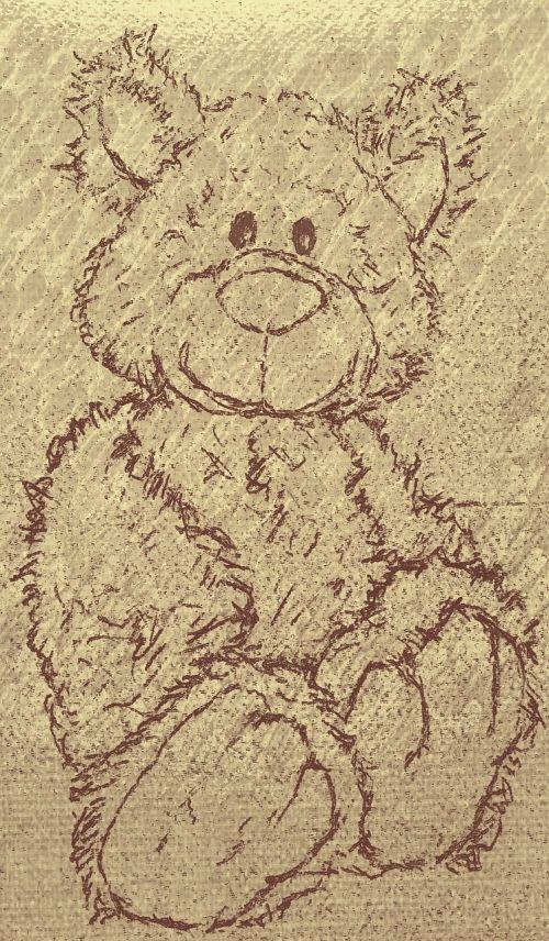 teddy bear child