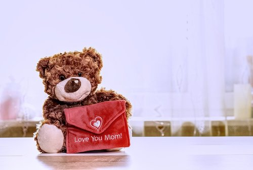 teddy  love  mother's day