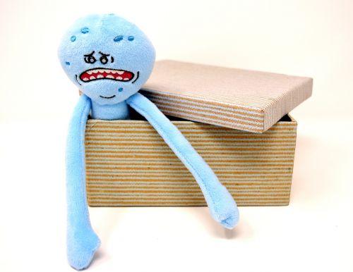 teddy bear soft toy cardboard