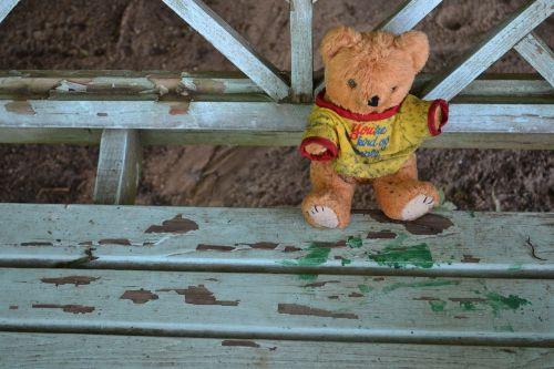 teddy bear stuffed animal dirty