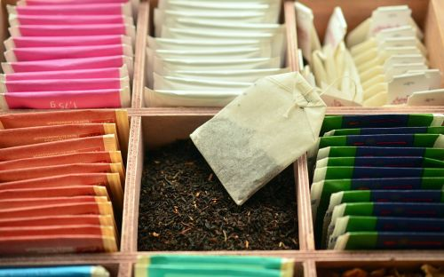 tee tea bags teas