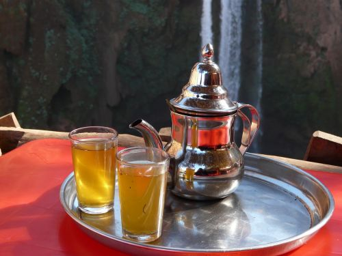 tee waterfall teapot