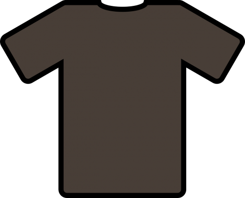 tee shirt brown