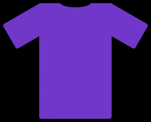 tee shirt purple