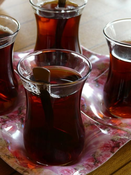 tee turkish tea drink