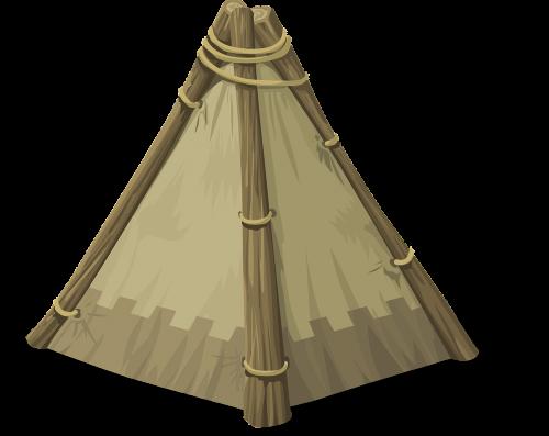 tee-pee tent indian