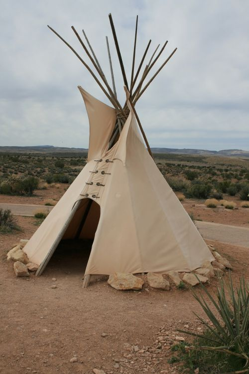 tee pee native american tent