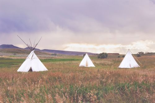 teepee outdoors camping