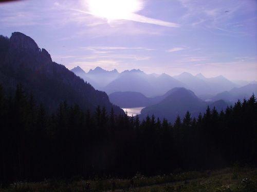 tegelberg alpine mountains