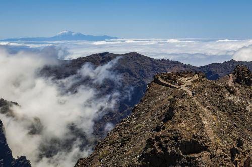 teide,kalnas,Tenerifė,vulkanas,el teide,Kanarų salos,Ispanija,kraštovaizdis,gamta,Rokas,aukščiausių kalnų,sala,žygis