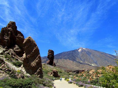 teide,Tenerifė,Teide nacionalinis parkas,vulkanas,gamta,Kanarų salos,3718 metrai,kraštovaizdis