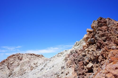 teide pico del teide summit