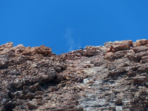 teide summit smoke