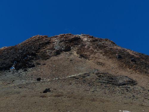 teide mountain summit