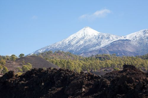 teide volcano mountain