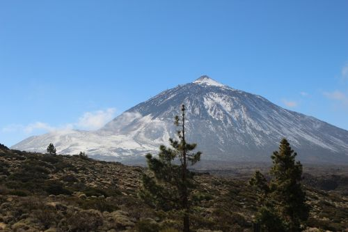 teide volcano canary islands