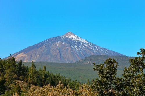 teide mountain volcano