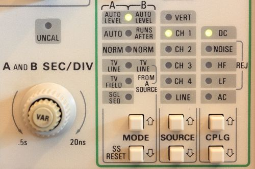 tektronix scope oscilloscope