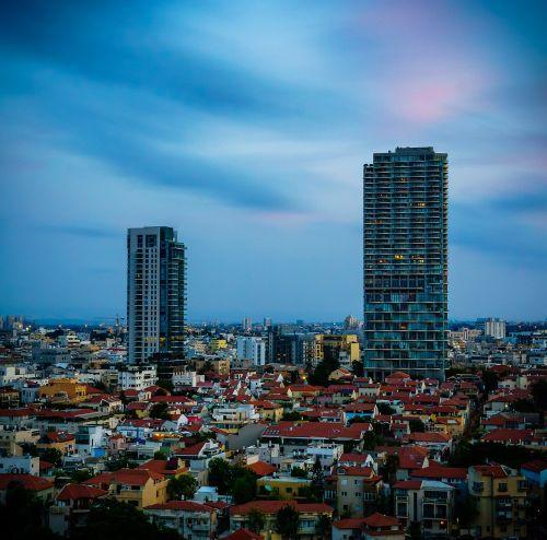 tel-aviv israel longexposure