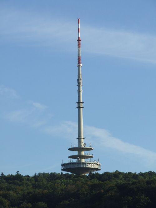 telecommunication tower stuttgart tower